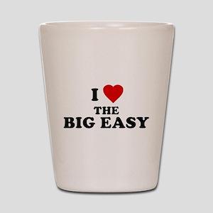 I Love [Heart] the Big Easy Shot Glass